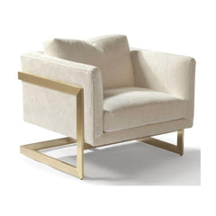 Thayer Coggin Milo Baughman T-Back Lounge Chair
