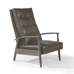 Thayer Coggin Milo Baughman Viceroy Recliner Leather