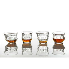 Tipsy Glasses with Bourbon from Loris & Livia