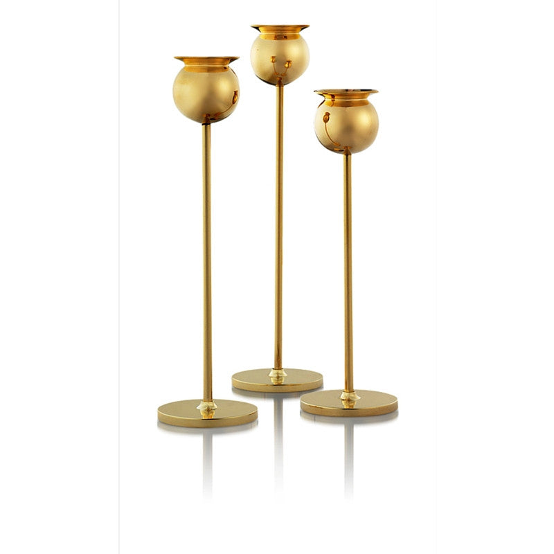 Tulip Candlesticks by Pierre Forssell for Skultuna