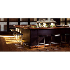 Knoll Mies van der Rohe Four Seasons Barstools in situ