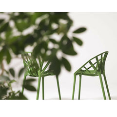 Vegetal Chairs Green with Vegetation Bouroullec Brothers for Vitra