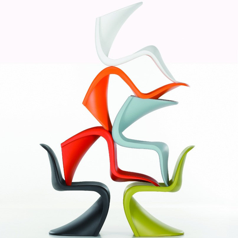 Verner Panton Panton Chair Group Stack Vitra