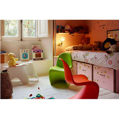 Verner Panton Classic Red Dark Lime Panton Junior Chair Eames Elephant Kids Room Vitra