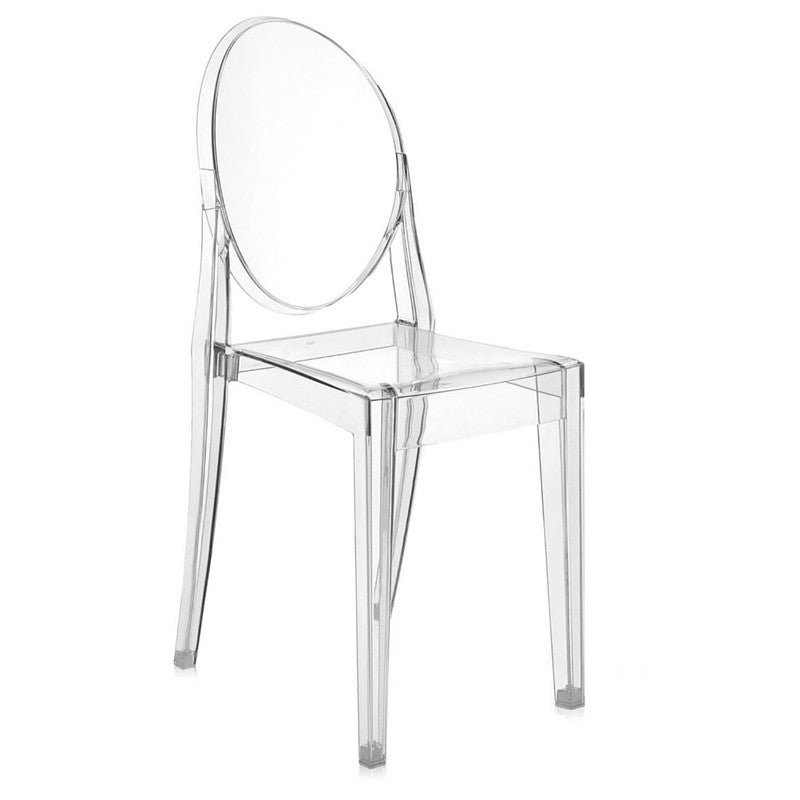 Victoria ghost chair set philippe starck kartell for Chaise ghost starck
