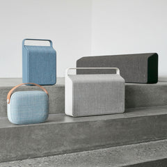 Vifa's Nordic Collection of Soundspeakers (from top left: Oslo, Stockholm, Copenhagen, Helsinki)