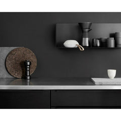 Vifa Reykjavik Speaker Sandstone Grey in Vipp Kitchen