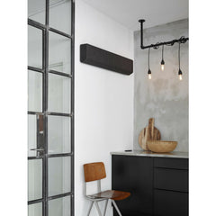 Vifa Stockholm Speaker Anthracite Wall Mounted in Kitchen