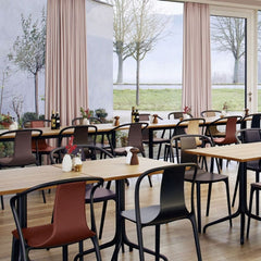 Vitra Belleville Chairs by Ronan and Erwan Bouroullec in Cafe
