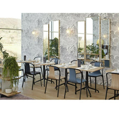 Vitra Bouroullec Belleville Chairs in Restaurant