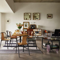 Vitra Bouroullec Belleville Chairs in Dining Room