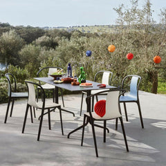 Vitra Belleville Chairs Outdoors