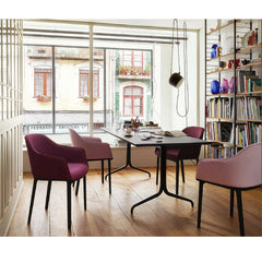 Vitra Bouroullec Softshell Chairs in Room with Belleville Table
