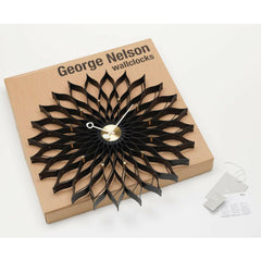 Vitra George Nelson Sunflower Clock with Box and Certificates of Authenticity