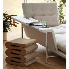 Vitra Grand Sofa by Antonio Citterio with Wiggle Stool by Frank Gehry