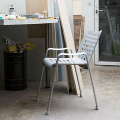 Vitra Landi Chair by Hans Coray in office