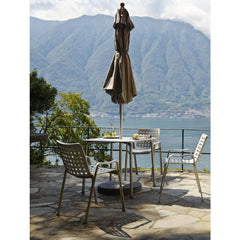 Vitra Landi Chairs by Hans Coray at Lake Como
