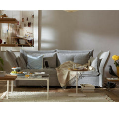 Vitra Mariposa Sofa by Barber Osgerby in Silver in Room