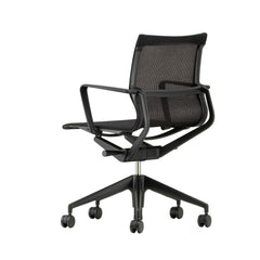 Vitra Physix Chair by Alberto Meda Black Trio Knit Back