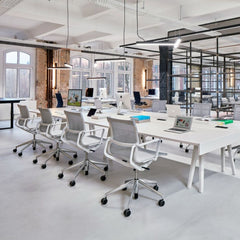 Vitra Task Chairs by Alberto Meda in Open Plan Office