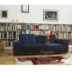 Vitra Hella Jongerius Blue Polder Sofa in Room