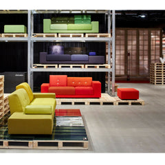 Vitra Polder Sofas Yellow Red Blue Green at Salone di Mobile 2015