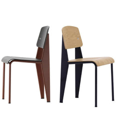 Vitra Prouvé Standard Chair and Standard SP Side by Side