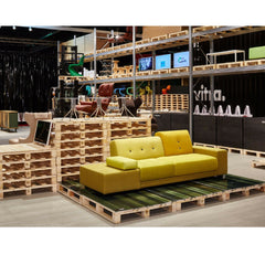 Hella Jongerius Yellow Polder Sofa at Vitra Salone di Mobile 2015