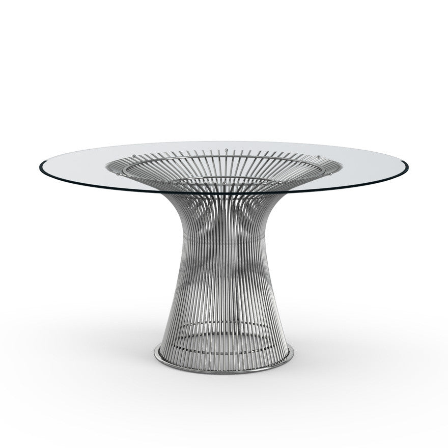 Warren Platner Glass Dining Table Knoll