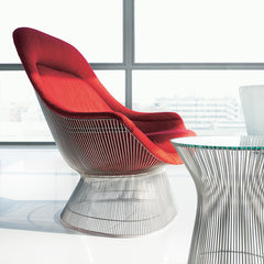 Warren Platner Easy Chair and Side Table from Knoll