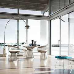 Warren Platner Dining Collection at Beach Knoll