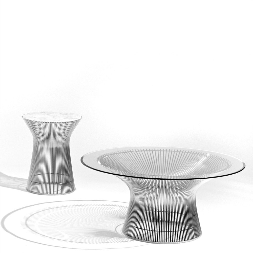 Warren Platner Coffee Table And Side Table Knoll