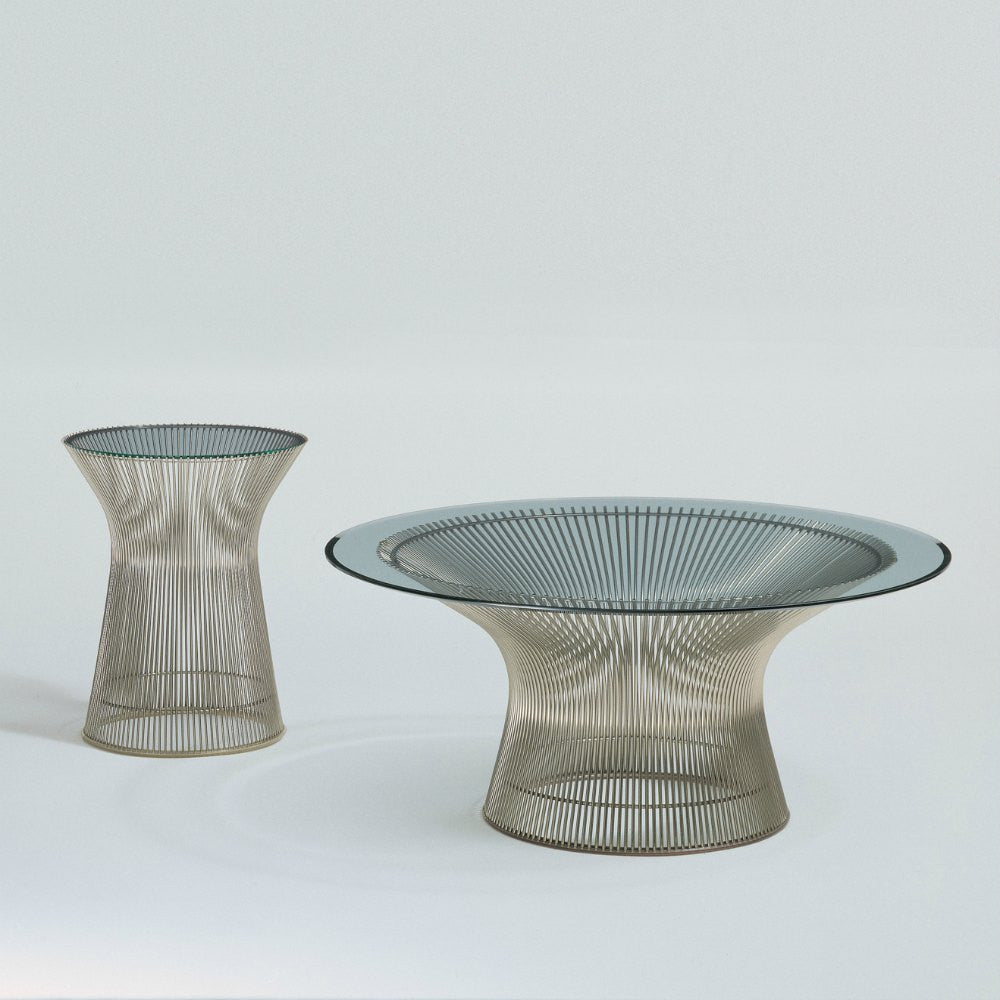 Platner Side And Coffee Table