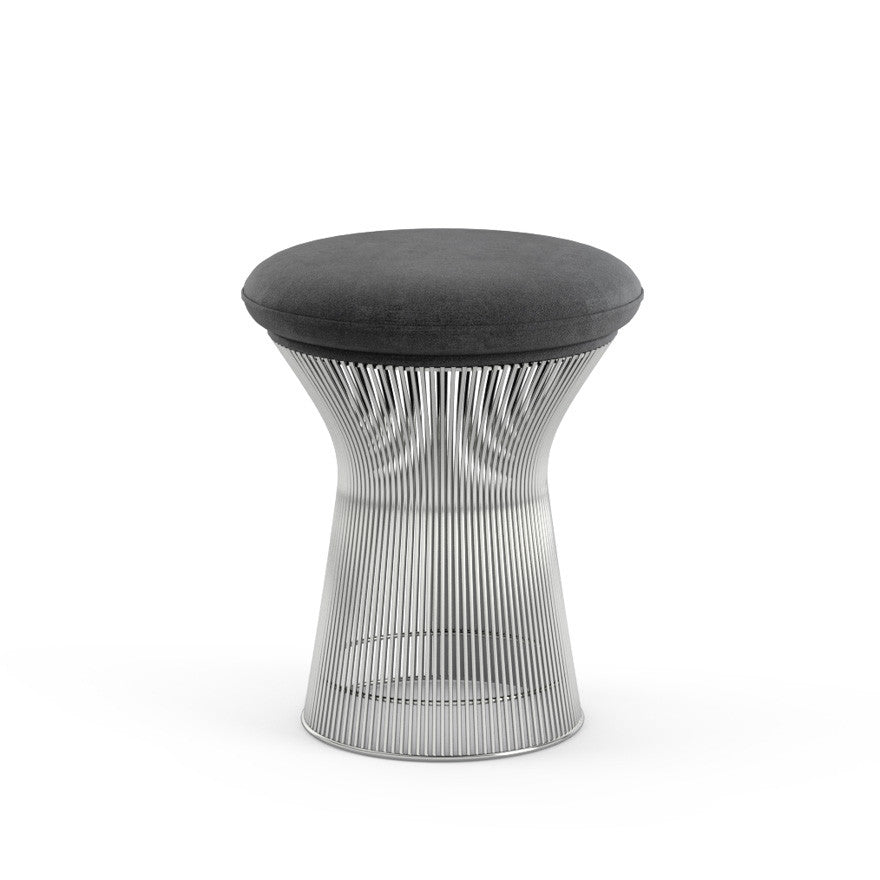 Warren Platner Stool Dark Grey Knoll