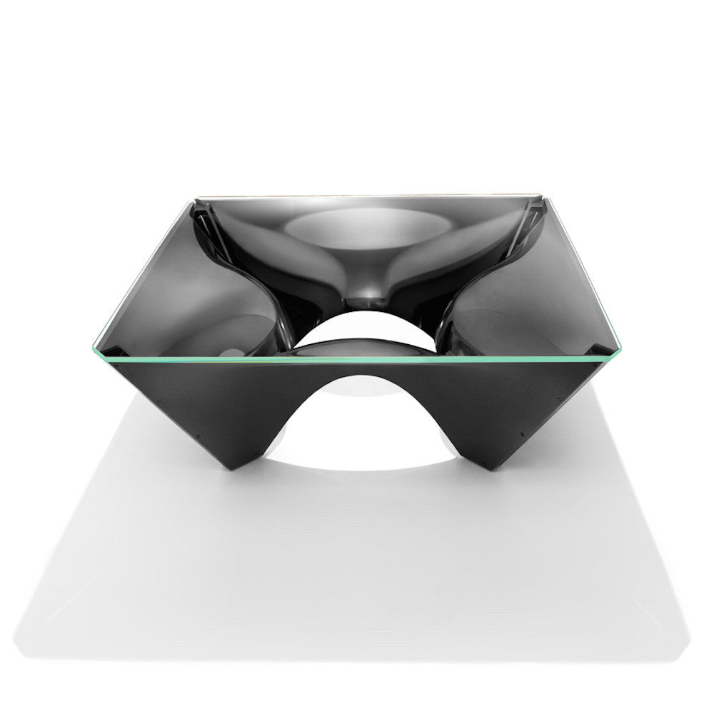 David Adjaye Washington Corona Aluminum Coffee Table Knoll