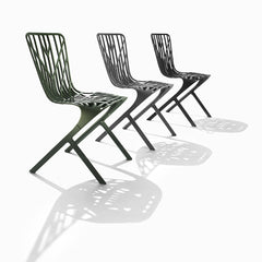 Washington Skeleton Chairs with Shadows David Adjaye for Knoll