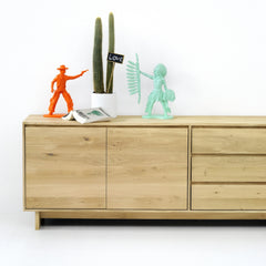 Wave Oak Sideboard by Ethnicraft