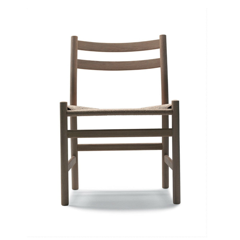 Wegner CH47 chair oak front Carl Hansen & Son