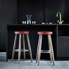 Wegner Barstools in Situ Carl Hansen and Son