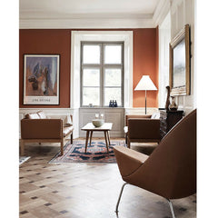 Wegner CH011 Coffee Table in Room Hellerup Manor Carl Hansen & Son