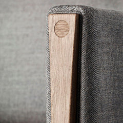Wegner CH163 Arm Joinery Detail Carl Hansen and Son