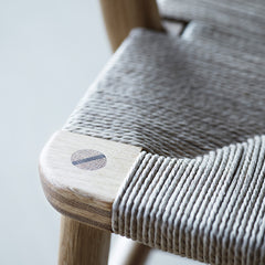 Wegner CH22 Lounge Chair Joinery and Seat Detail Carl Hansen and Son