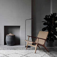 Wegner CH25 Lounge Chair in situ Louisa Grey Carl Hansen and Son