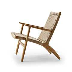 Wegner CH25 Chair Oak Oil Side Carl Hansen and Son