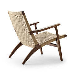 Wegner CH25 Walnut Oil Back Carl Hansen and Son