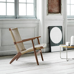 Wegner CH25 Walnut Oil in room Carl Hansen and Son