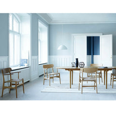 Wegner CH26 Dining Chairs in Dining Room Carl Hansen & Son