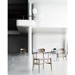 Wegner CH26 Dining Chairs in Loft Carl Hansen & Son