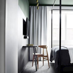 Wegner CH33T Dining Chair in situ Hotel Danmark Carl Hansen and Son