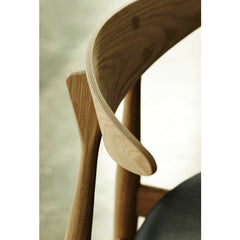Wegner CH33 Chair Oak Detail Carl Hansen & Son